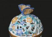 Bonbonniere ażur, Butterfly knob (big) 06214-0-17/C3